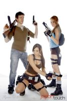 Cosplay - Uncharted and Tomb Raider by Dj3r0m