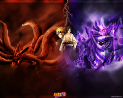 Naruto wallpaper by NickchouBG