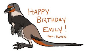 Happy Birthday, Emily Willoughby! by raven-amos