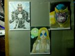 Marvel Materpieces by wardogs101