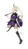 All Grown up Ino by Jolly-Jessie