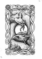 Goblin Tarot - The Dragons by vulpinoid