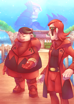 Poketrainer's Guide- Tabitha and Maxie by Sony-Shock