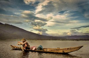 rawa pening in the morning by nooreva