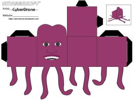 Cubee - Tony Harrison by CyberDrone