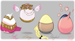 Mystery Pony Eggs [all taken] by CigarsCigarettes