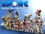 Spore Fanart 2 Wallpaper by cicakkia