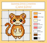 Cute Kitty Cross Stitch Chart by the-sinister