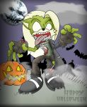 Halloween 2014 profile pic. by foxguy823
