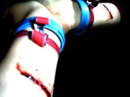 Fantasy Scars Upon My Wrists by Myzh