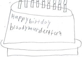 a picture of bloodymurder4fun's birthday cake by sailorcancer01