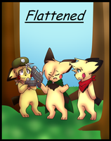 Flattened Cover by FreckledArtist