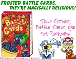 Frosted Battle Cards... by RockMiyabi