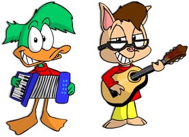 They Might Be Giants - Tiny Toons by lazyradly