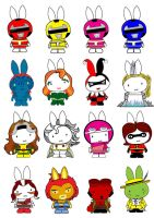 Generation Miffy in the Ninth by likimonster