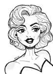 Marilyn Monroe by Mitchie98
