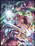 Colors on A-Dub's MvC Illo by Robaato
