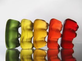 polonaise of gummi bears by broens