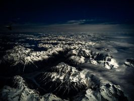 Flying Over NZ by CainPascoe