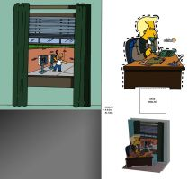 Recortable Simpson (2) by Mosquis