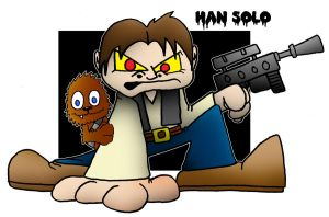 Lil' Han Solo by 5chmee