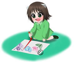 Little Artist by Koyukistyle