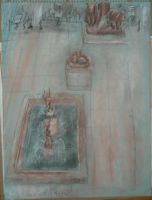 Drawing of Museum hall 1 by Xoxorian