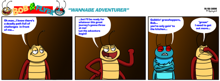 B'n'F - Wannabe Adventurer by BluebottleFlyer