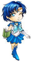 Chibi Sailor Mercury by Ranefea