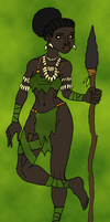 Yejide the Woman of the Forest by BrandonSPilcher