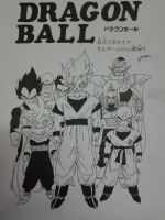 Dragonball Z- Grupo Saga Cell by TriiGuN