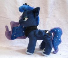 Commission- Itty Bitty Luna by FollyLolly