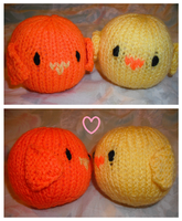 Opposites Attract / Spring Love! by Stitch-Happy