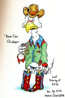 Beer Can Chicken by oh-the-humanatee