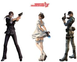 Resident Evil Girls Alt by ShiroTagachi