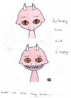 Cute and Creepy by DukeAgent17