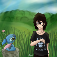 Nico and Stitch by JinGi
