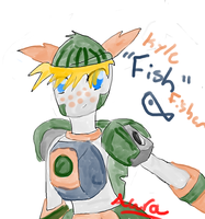 """Kyle """"Fish"""" Fisher by aurabooster"""