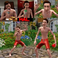 HAL in the sims...? by bloodwolf8