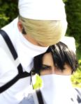 Cleaning Erwin and Levi by SimmiCosplay