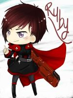 RWBY - Chibi Ruby by StillJade