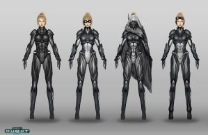 Starcraft Nova Suit Designs by ZeroNis