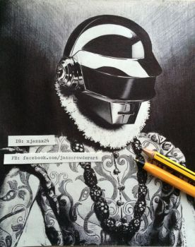 Daft Punk by And-all-that-jazz-x