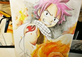 Natsu - Fairy Tail by misakisailor