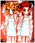 Young Lavender and Tabitha by LordNobleheart