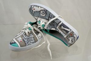 Dog Walking Shoes by ChicaFromIpanema