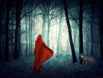 Red in the forest by Studiobystacy