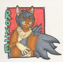 Badge for Roxie by pagedrillgirl