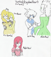 KH-Vocaloids: The Evil Series by Kit55