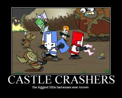 CASTLE CRASHERS by happymanofdoom93